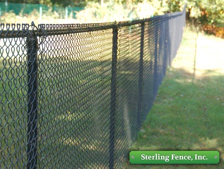 Vinyl Fencing Coated Rail Sterling Fence