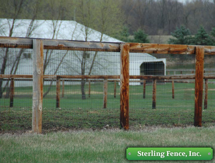 Horse Pasture Amp Paddock Fencing Minneapolis Fence