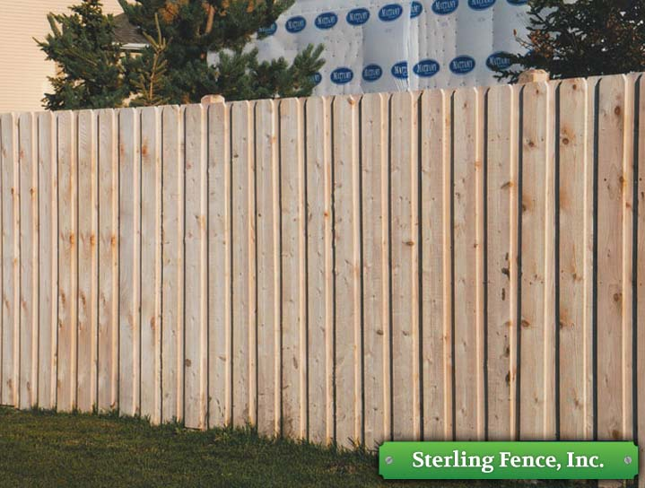 Wood Fences Wooden Fencing Alternating Board